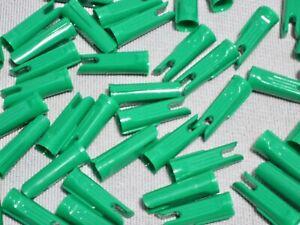 Bohning Classic Nocks 11//32  Fluorescent Green dozen pack