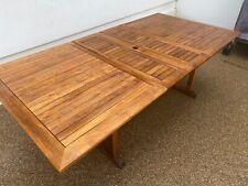 Teak Rectangular Extending Garden Table 1.8m – 2.4m x 1.2m