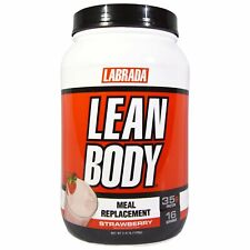 Labrada Nutrition  Lean Body  Meal Replacement  Strawberry  2 47 lb  1120 g