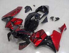 Wine Red w/ Gloss Black Fairing Injection for 2003-2004 Honda CBR 600 RR F5