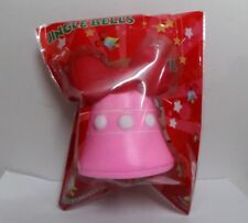 Brand New Kawaii 2018 Christmas Jingle Bell Scented Slow Rise Squishy