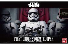 Star Wars Plastic Model Kit 1/12 FIRST ORDER STORMTROOPER Bandai Japan NEW **