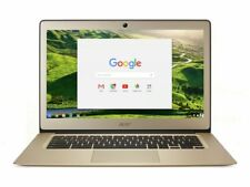 Acer Chromebook 14 Inch Intel Celeron 1.6GHz 2GB 32GB Laptop - Gold