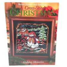 A Cross Stitch Christmas HOLIDAY MEMORIES 2005 Stockings Angels Elves