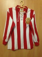 SUNDERLAND 1913 FA CUP FINAL HOME FOOTBALL SHIRT JERSEY SCORE DRAW REPLICA L/S