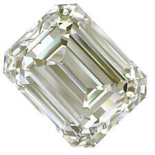 Emerald Moissanite Diamond 4 Ring 1.96 Ct Vs1/8.77Mm Near White Loose