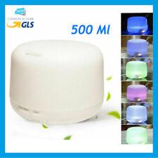 Aromaterapia 7 LED 300ml Umidificatore ad Ultrasuoni Depuratore - Bianco