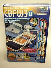 Nos Ratoc Cbfw3U 1394 Cardbus Pc Card Sealed Package