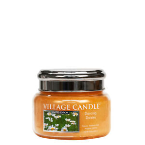 Village Candle Double Wick Small Candle Jar - Dancing Daisies **OFFER**