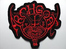 ARCHGOAT  SHAPED LOGO  EMBROIDERED PATCH