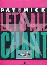 Vamos a todos los canto-Pat & Mick - 1988 Partituras