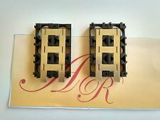 4pcs 18650 Battery Spacers  Plastic  Bracket +2pcs battery  nickel belt