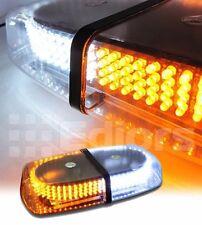 240 LED Amber White Warning Emergency Vehicle Truck Snow Plow Top Strobe Light