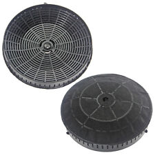 Round Carbon Filter Pair for ELICA CFC0038668 Cooker Hood Extractor - Pack of 2