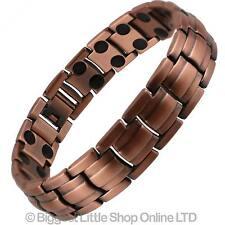 NEUF Stylé Bracelet magnétique cuivre finition haute résistance NdFeB 36 aimants
