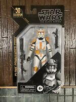 "❗️Star Wars Black Series Archive 50th CLONE COMMANDER CODY 6"" Figure In Hand"
