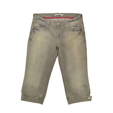 Tommy HILFIGER Jeans Da Donna w31 Capri Bermuda short pantaloni women pants W. GRIGIO NUOVO