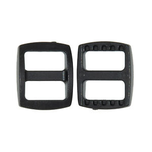 Flyshop 12PCS Tri-Glides Adjust Buckles Accessory of Sided Quick Release Buckles