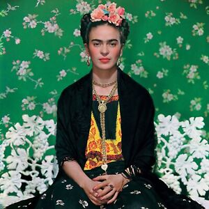 "Frida Kahlo poster wall art home decor photo print 16"", 20"", 24"" sizes"