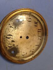 Seth Thomas Tambour Mantle Clock Dial & Bezel With Glass