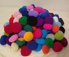 10 Nylon Net Scrubbies, dish scrubbers,pot scrubber,scrubbies made of nylon net