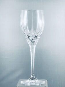 "4 MIKASA  ARCTIC LIGHTS Large 9"" Lead Crystal Wine or Water Glasses"
