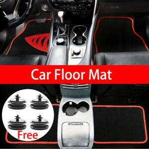 4x Car Floor Mat For Holden Commodore VT VX VY VZ VEVF ZB W/Clips Universal AU