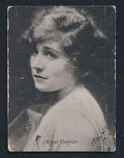 "1915-1917 Movie Theater Promo Card -ETHEL CLAYTON in ""The Hidden Star"""