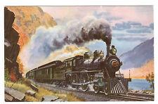 Empire State Express 1893 P&LE Railroad Howard Fogg postcard