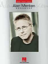 Alan Menken Songbook Learn to Play Disney POP PIANO Guitar PVG Music Book