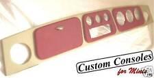 Classic Mini Dashboard You choose ALL COLOURS the back and raised binnacles