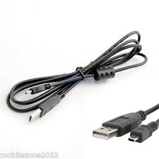 USB 2 Data Sync Transfer Cable Lead Panasonic Lumix DMC-TZ20 DMC-LZ5 TZ5 TZ4