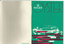 ROLEX Translation Booklet  565.00.250.2.86 Traducción PRESIDENT DATEJUST