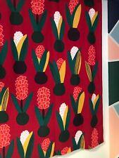 Marimekko Curtain Aino-Maija Metsola Lucia Red Flower 2012