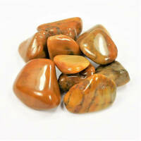 Bulk Wholesale Lot 1 LB - Yellow Jasper - One Pound Tumbled Polished Stones