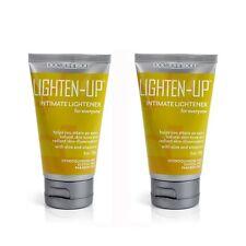 2 Doc Johnson Lighten-Up Intimate Area Lightening Cream Vaginal Anal Skin Bleach