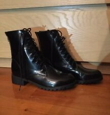 Brand New Black Combat Boots Size EU40 Cotton On