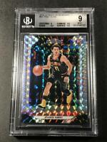 TRAE YOUNG 2018 PANINI PRIZM #93 MOSAIC REFRACTOR ROOKIE RC BGS 9 W/2 9.5 SUBS