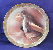 The Promise Lee Bogle Native Beauty Bradford Exchange Indian Plate