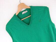 vtg097 adidas vintage tricoté gilet débardeur original Premium laine size 44 / M