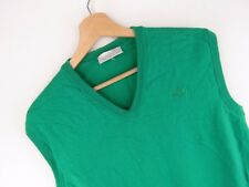 vtg097 Adidas Vintage Punto CHALECO ORIGINAL PREMIUM LANA TALLA 44/M