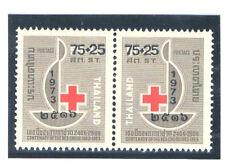 THAILAND 1974 Red Cross (Pair)