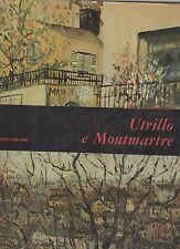 utrillo e montmartre - mensili d arte fabbri - 1967 - sovracopertina