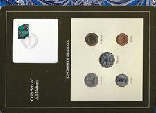 Coin Sets of All Nations Denmark 1980 - 1994 UNC RARE SET 1 Kroner 1980