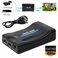 Convertitore adattatore per TV da SCART Composito a Scart HDMI 1080P Audio Video
