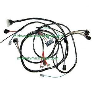 front end headlight headlamp wiring harness 65 Chevy II Nova 283 327 1965 396