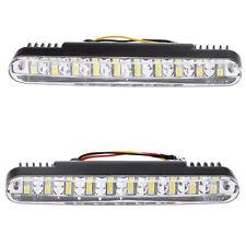 2pcs 30 LED Car Daytime Running Light Daylight Lamp w/Turn Signal Indicator B7C6