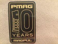 MAGPUL 10 Years PMAG Sticker / Guns / Ammunition / Hunting / Mancave