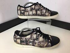 LANVIN Pump Shoes Sneakers Black Toes Size 39 Uk 6 Flats