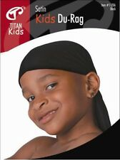 Titan Classic Kids Satin Du-Rag breathable ultra stretch extra long tail